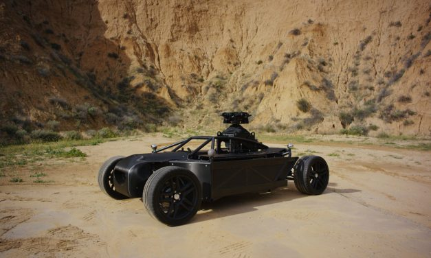 Mill Blackbird, el coche de los sueños de Hollywood