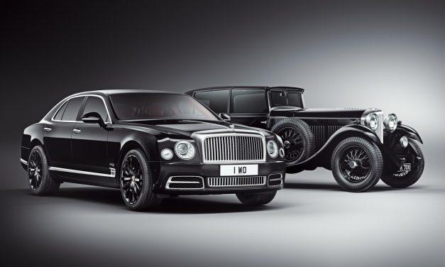 Bentley Mulsanne W.O. el homenaje al siglo de la marca