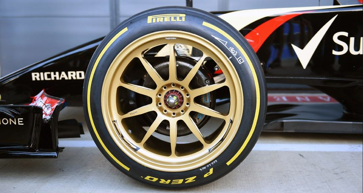 Llantas de 18 pulgadas para la Fórmula 1 en 2021