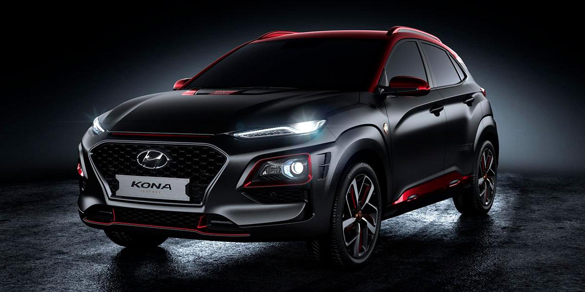 Hyundai Kona Iron Man, basada en el héroe de Marvel