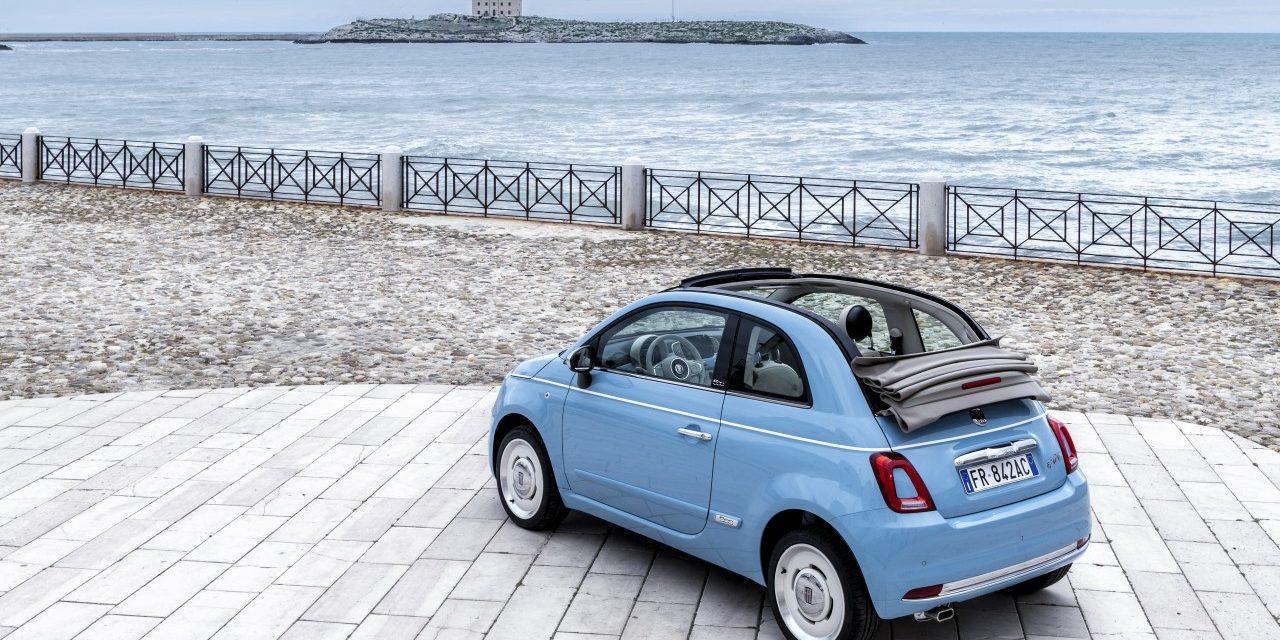Fiat 500 Spiaggina, edición especial del 60 aniversario