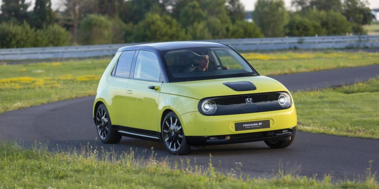 Prueba: Honda E 2019 Eléctrico 100%