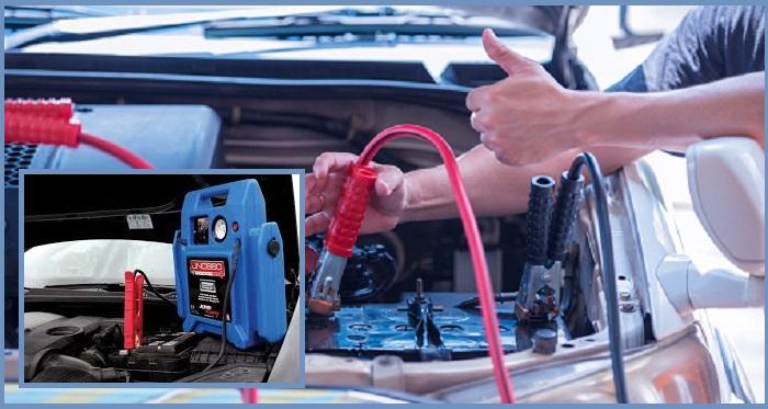 arrancador batería coche